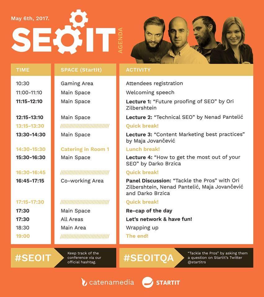SEOIT SEO conference Serbia